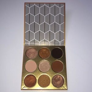The Warrior by Juvia's Eyeshadow Pallet
